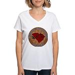 South Carolina Birder Women's V-Neck T-Shirt