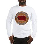 South Dakota Birder Long Sleeve T-Shirt