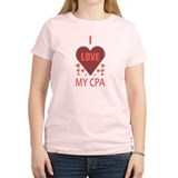 I Love My CPA T-Shirt