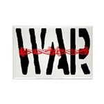 WAR Rectangle Magnet (100 pack)