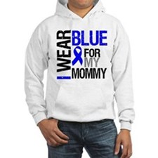 I Wear Blue Mommy Hoodie