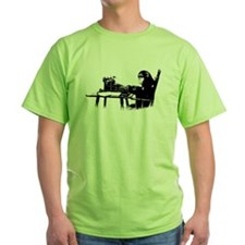 Typing chimpanze T-Shirt