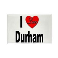 I Love Durham Rectangle Magnet (10 pack)