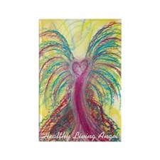 Healthy Living Angel Magnet