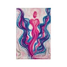 Angel of Abundance Rectangle Magnet