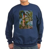 key biscayne cape florida lig Sweatshirt