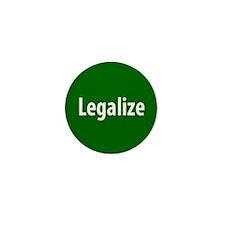 Legalize Mini Button (10 pack)