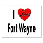 I Love Fort Wayne Small Poster