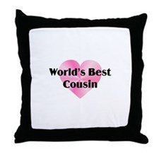 WB Cousin Throw Pillow