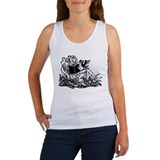 Reading in the Garden Women's Tank Top
