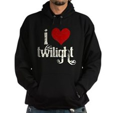 I Love Twilight Sudaderas con capucha