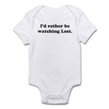 I'd rather be watching Lost Infant Bodysuit