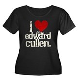 I Heart Edward Cullen Women's Plus Size Scoop Neck