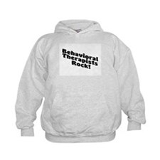 Behavioral Therapists Rock! Hoodie