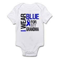 I Wear Blue Grandma Infant Bodysuit