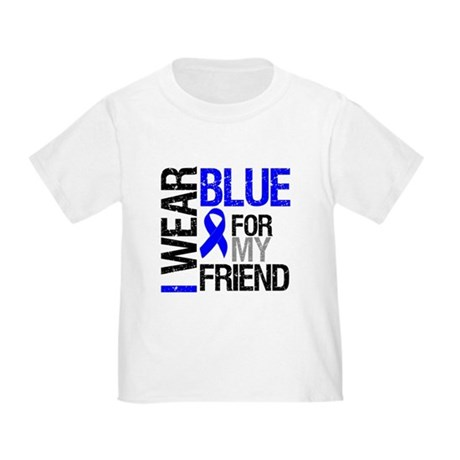 I Wear Blue Friend Toddler T-Shirt