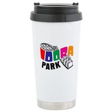 Idora Park Color Rollercoaster Ceramic Travel Mug
