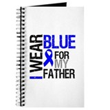 I Wear Blue Father Journal