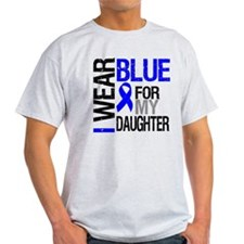 I Wear Blue Daughter T-Shirt