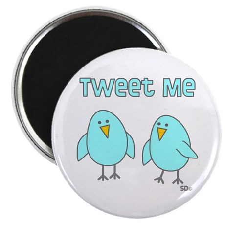"Tweet Me 2.25"" Magnet (100 pack)"