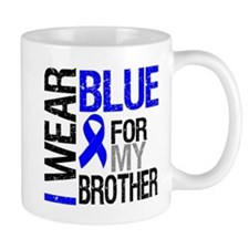 I Wear Blue Brother Mug