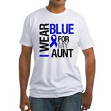 I Wear Blue Aunt Shirt