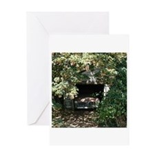 Cute Automobile Greeting Card