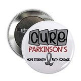 "CURE Parkinson's Disease 1 2.25"" Button"