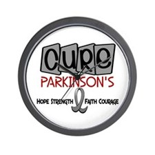 CURE Parkinson's Disease 1 Wall Clock
