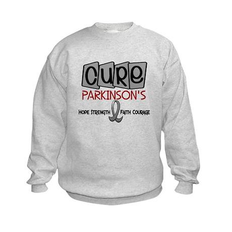 CURE Parkinson's Disease 1 Kids Sweatshirt