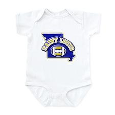 St. Louis Football Infant Bodysuit