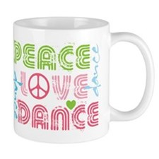Cute Dancer Small Mugs