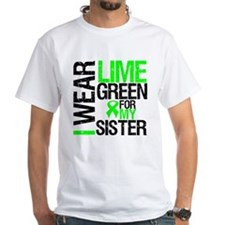 I Wear Lime Green For My Sister Shirt