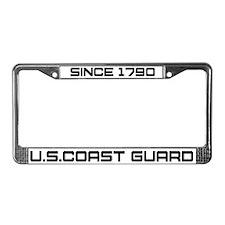 USCG Heritage License Plate Frame