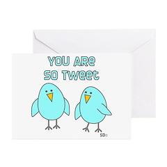 So Tweet Greeting Cards (Pk of 20)