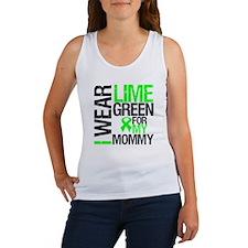 I Wear Lime Green Mommy Women's Tank Top