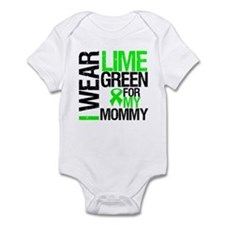 I Wear Lime Green Mommy Infant Bodysuit