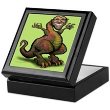 Funny Political caricatures Keepsake Box