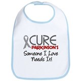 CURE Parkinson's Disease 2 Bib