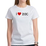 I Love Zac Women's T-Shirt