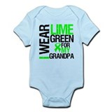 I Wear Lime Green Grandpa Onesie