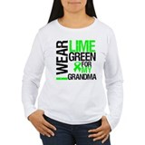 I Wear Lime Green Grandma T-Shirt