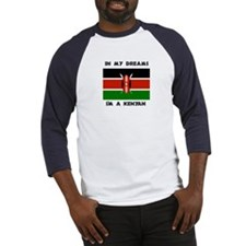 In my dreams I'm a Kenyan Baseball Jersey