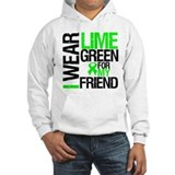 I Wear Lime Green Friend Jumper Hoody