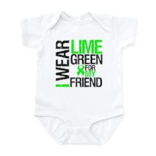 I Wear Lime Green Friend Infant Bodysuit