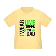 I Wear Lime Green For Dad T