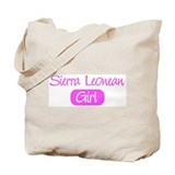 Sierra Leonean girl Tote Bag