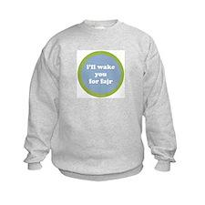 Fajr Sweatshirt (light blue + green)