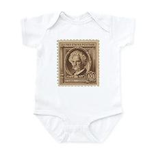 Mark Train Infant Bodysuit