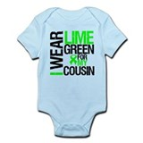 I Wear Lime Green Cousin Onesie